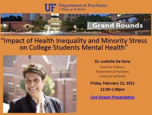 Impact of Health Inequality and Minority Stress on College Students Mental Health